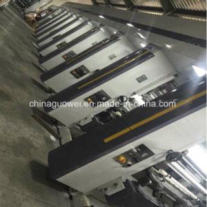 8 Farben-Zylindertiefdruck-Drucken-Maschine mit drei Motor 160m/Min