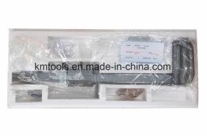 , 0-300 mm/0-12 Medidor de Altura do tambor de aço inoxidável Dispositivo de medição