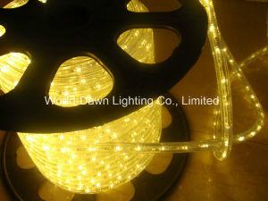 3 CABLES LED redonda de la luz de la cuerda para Multi-Colored DIP