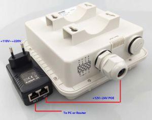 Uma porta LAN 4G Indústria Lte Roteador Sem Fio com impermeável IP67, o cartão SIM 2*2 4G/WiFi antena MIMO