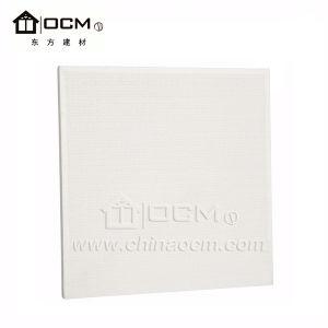 PVC plastifié plafond résistant au feu des matériaux de surface