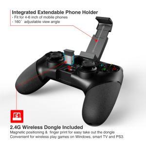 Ipega Bluetooth Gamepad PC Spiel-Controller mit drahtlosem Dongle 2.4G für Android/IOS PS3