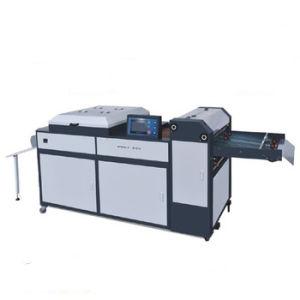 Macchina di rivestimento UV manuale Sguv-660 che funziona con la stampante di Digitahi