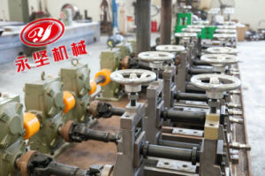 De Buis die van het staal de Molen van de Buis van de Machine het Maken van Machine door buizen leiden maken