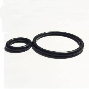 Het zwarte Bewijs van de Olie en de Waterdichte Verbinding van de O-ring van het Butadieen van het Nitril Rubber