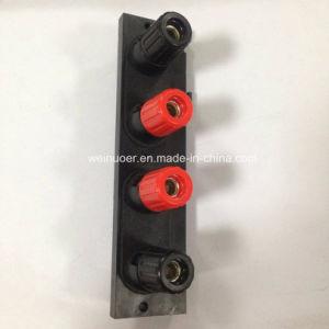 Wp4-12c 4 Pin 4 forma de rectángulo el terminal del cable de altavoz