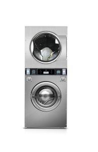 自己サービス硬貨は販売スタック洗濯機のドライヤー機械を作動させた