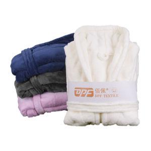 Le Haut vendre Polyester adulte unisexe peignoirs de bain super doux peignoir polaire de corail