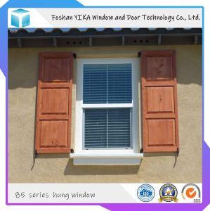 Vendedor caliente Yika aluminio vidrio templado de la ventana de colgado para el proyecto