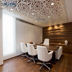 Décoration PVDF panneau couché en aluminium pour la construction de plafond suspendu