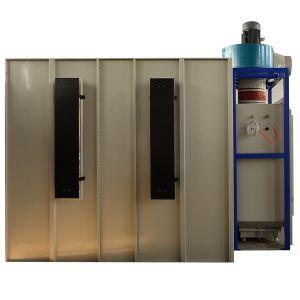 Hohe Leistungsfähigkeits-Puder-Beschichtung-Stand mit Filtereinsatz