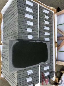 フロアーリングおよび壁のための砥石で研がれた黒い玄武岩のタイル