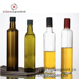 Bottiglia di vetro di alta qualità all'ingrosso per olio da cucina
