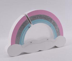 Design de moda cintilantes Rainbow Banco do Fundo para as crianças