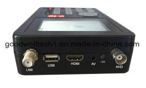 un satellite di 3.5  Digitahi con la prova della macchina fotografica del CCTV di sostegno del video dell'affissione a cristalli liquidi