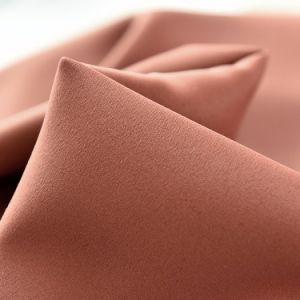 2017カスタム設計しなさい純粋な様式ポリエステル固体停電の窓カーテン(12F0026)を