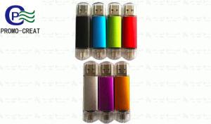 Металлический флэш-накопитель USB для мобильных устройств и компьютера