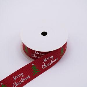 Venda por grosso prendas de Natal Embalagem embalagem Fita Grosgrain casamento de poliéster (RB7057)