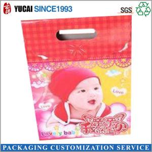 2017년은 새로 커트 손잡이 종이 선물 부대 사탕 부대를 정지한다