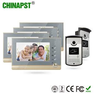 Video citofono del portello dell'appartamento inferiore di prezzi con la cattura della foto (PST-VD07R-ID)