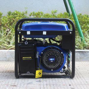 バイソン(中国) BS6500p 5kw 5kVA 5000W 1yearの保証のエクスポートのための耐久の銅線力の携帯用無声発電機