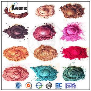 Het kosmetische Poeder van het Pigment van de Kleur van het Mica van de Rang