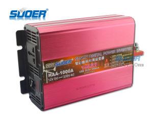 Suoer 24V 1000W 정연한 사인 파동 태양 에너지 변환장치 (HAA-1000B)