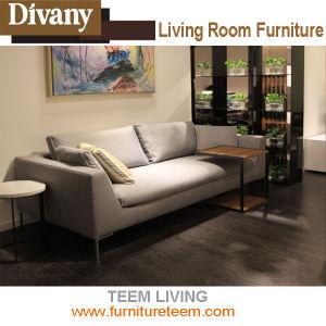 Salon moderne canapé avec coin canapé en cuir de lève-fauteuil ...