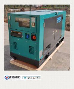 UK Perkins diesel do gerador de reboque silenciosa na alimentação de gasóleo