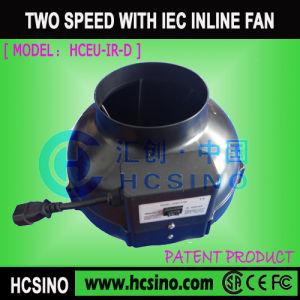 Conducto de Inline hidropónico el ventilador (HCEU-IR-D)