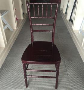수지 Chiavari 그려진 마호가니 의자