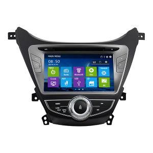 Carro especial DVD com sistema de navegação GPS para novo Elantra 2012 com sintonizador Philips (IY8053)