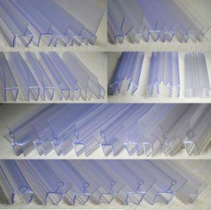 Striscia di vetro della guarnizione di tempo del PVC del portello dell'acquazzone