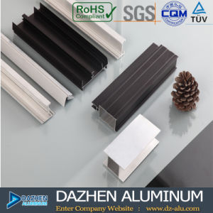 Alta qualità di alluminio di fabbricazione della lega di profilo 6000 dell'espulsione personalizzata