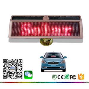 Telefono rosso di Bluetooth programmabile con segno in tutto il mondo mobile solare dell'automobile del tabellone del messaggio di linguaggio del comitato LED il mini LED