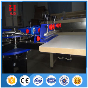 기계를 인쇄하는 두 배 바퀴 겹쳐 찍기 수동 스크린