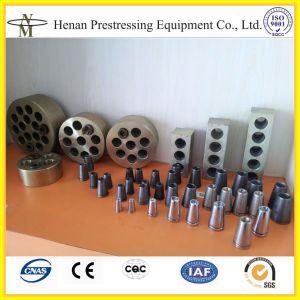 12,7mm y de 15.24mm cable PC Strand ancla pretensado para Post Tesnioning losa de hormigón