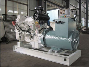 300KW/375kVA Cummins conjunto generación marina