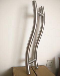 Высокое качество S формы деревянной дверью, потяните за ручку для опускного стекла передней двери