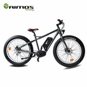 Bicicleta elétrica de Moutain da roda gorda com motor aluído