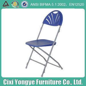 Weddings를 위한 파란 Fan Back Moon Folding Chair