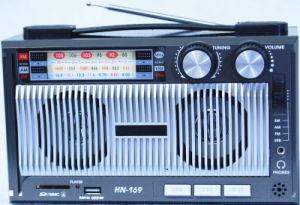 راديو [مولتيفونكأيشن] مع [أوسب/سد] و [رشرجبل بتّري] وخزانة خشبيّة ([هن-1691ور])