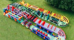 2019 plus grand obstacle gonflable Cours pour adultes