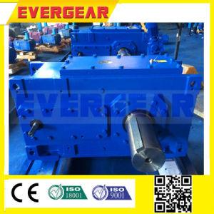 중국 제조자 높은 토크 저잡음 H 시리즈 엄밀한 이 측면 모터를 가진 나선형 산업 기어 박스