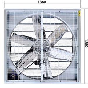 El martillo de caída del ventilador de escape para la casa de la pollería