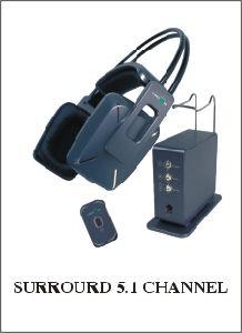 5.1 de Hoofdtelefoon van het kanaal (links-998)