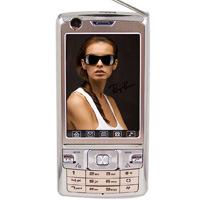 FoKetch K3000 si raddoppia Massager mobile doppio del appoggio TV Phoneot della carta di SIM (TF3049)