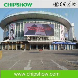 Pleine couleur Chipshow P10 Vidéo De plein air pour la publicité à affichage LED