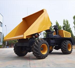 2ton de kipwagen articuleerde de Hydraulische Vrachtwagen van de Kipper van het Kruippakje Mini