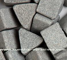 Resina y vitrificados pulido abrasivo Medios de piedra